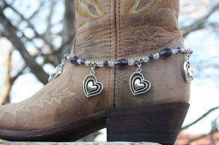 Violet Sweetheart Boot Candy