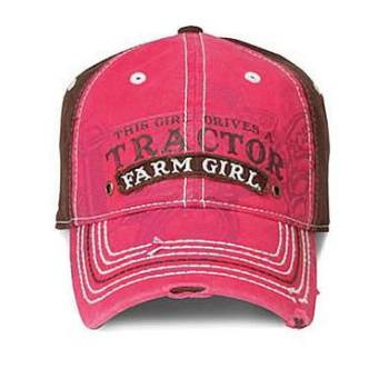 Farm Girl Women' s Tractor Ball Cap