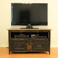 Tuscan Pine TV Stand for Home Theater by Shaka Studios