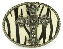 Western Cross Belt Buckle