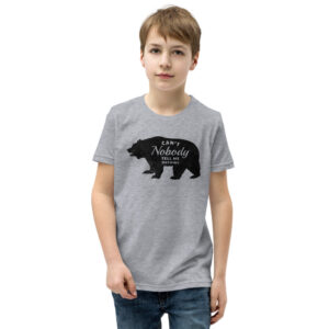 Grey Can't Nobody Tell me Nothing T-Shirt